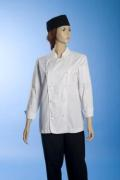 Jess Ladies Chef Jacket Long Sleeves White