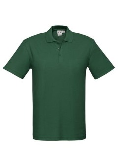 Mens Crew Polo Forest